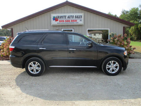 2013 Dodge Durango for sale at Granite Auto Sales in Redgranite WI