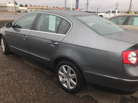 2008 Volkswagen Passat for sale at BARNES AUTO SALES in Mandan ND