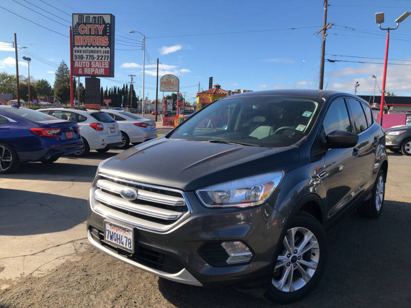2017 Ford Escape for sale at City Motors in Hayward CA