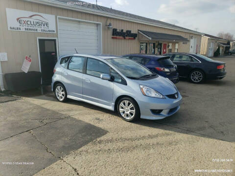 2009 Honda Fit for sale at Exclusive Automotive in West Chester OH