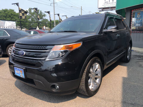 2015 Ford Explorer for sale at Champs Auto Sales in Detroit MI