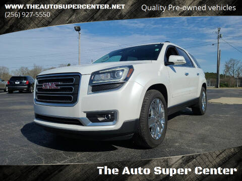 2017 GMC Acadia Limited for sale at The Auto Super Center in Centre AL