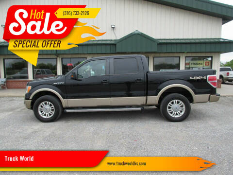 2011 Ford F-150 for sale at Truck World in Augusta KS