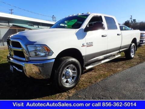 2015 RAM Ram Pickup 2500 for sale at Autotec Auto Sales in Vineland NJ