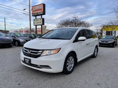 2015 Honda Odyssey for sale at Autohaus of Greensboro in Greensboro NC