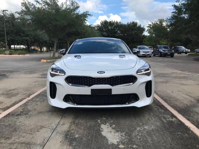 2018 Kia Stinger for sale at Mid-Town Auto in Houston TX