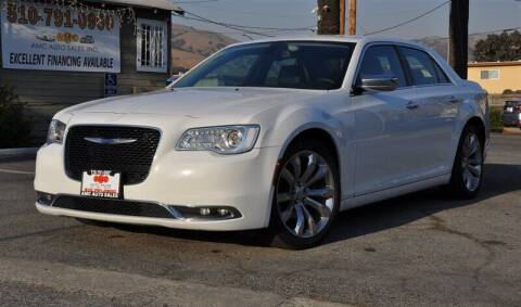 2018 Chrysler 300 for sale at AMC Auto Sales, Inc. in Fremont CA
