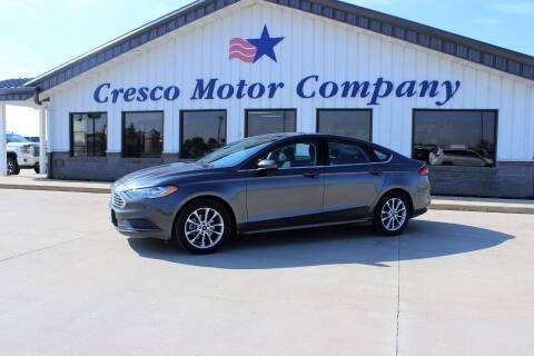 2017 Ford Fusion for sale at Cresco Motor Company in Cresco IA