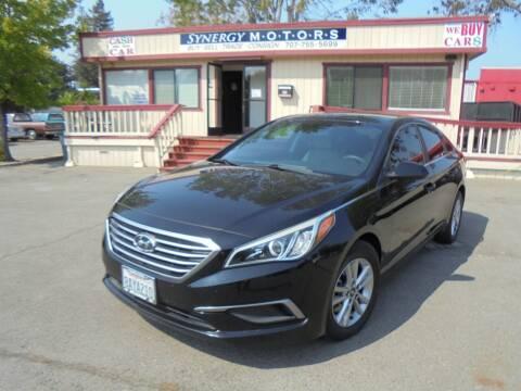 2016 Hyundai Sonata for sale at Synergy Motors - Nader's Pre-owned in Santa Rosa CA
