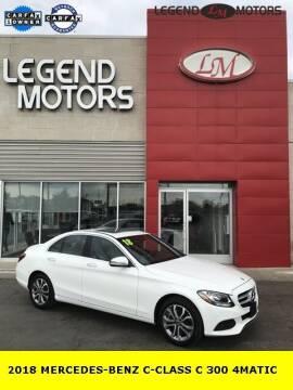 2018 Mercedes-Benz C-Class for sale at Legend Motors of Waterford - Legend Motors of Ferndale in Ferndale MI