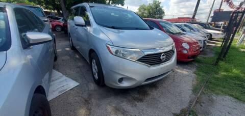 2011 Nissan Quest for sale at C.J. AUTO SALES llc. in San Antonio TX