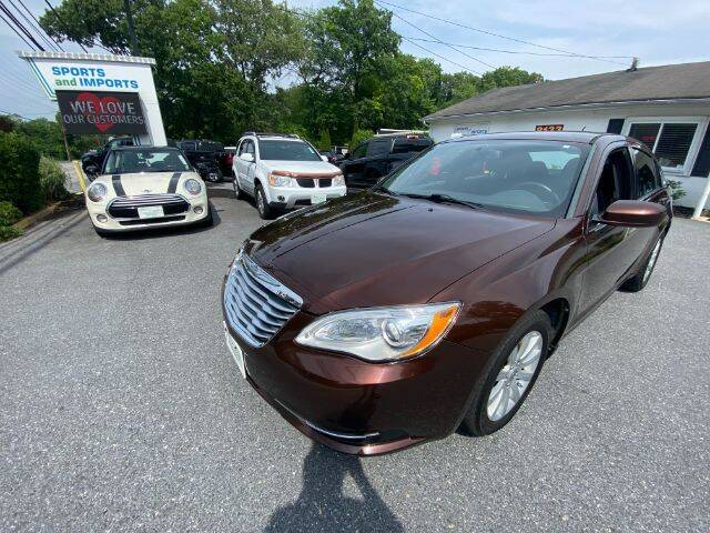 2013 Chrysler 200 for sale at Sports & Imports in Pasadena MD