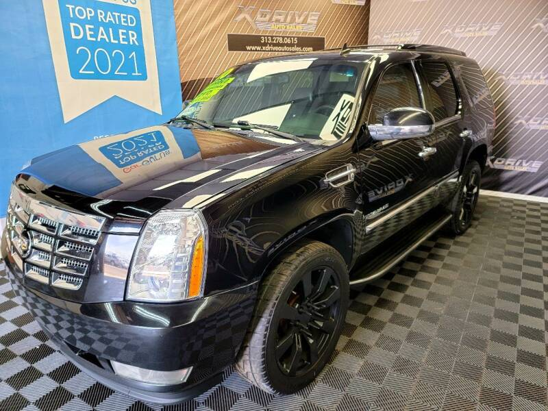 2010 Cadillac Escalade for sale at X Drive Auto Sales Inc. in Dearborn Heights MI