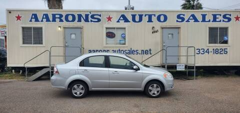 2011 Chevrolet Aveo for sale at Aaron's Auto Sales in Corpus Christi TX