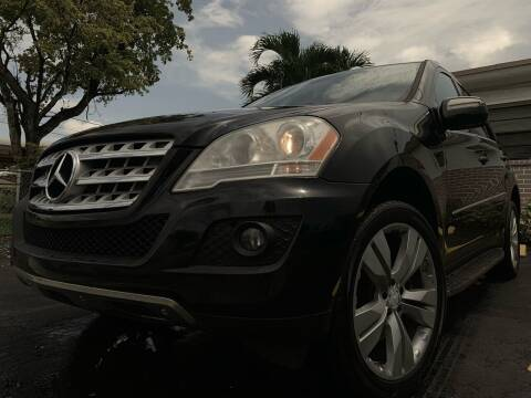 2010 Mercedes-Benz M-Class for sale at Eden Cars Inc in Hollywood FL