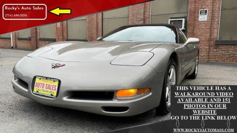 2001 Chevrolet Corvette for sale at Rocky's Auto Sales in Worcester MA