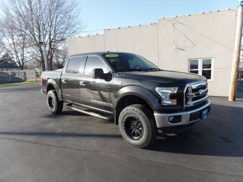 2015 Ford F-150 for sale at DeLong Auto Group in Tipton IN