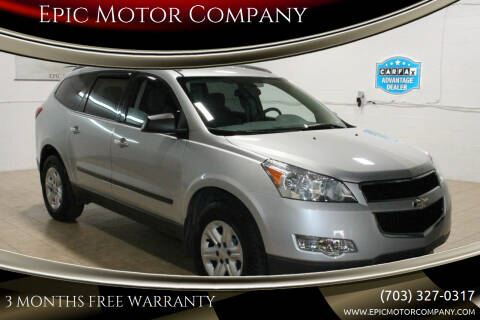 2012 Chevrolet Traverse for sale at Epic Motor Company in Chantilly VA