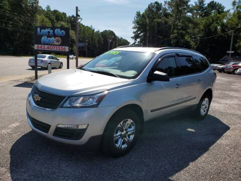 2015 Chevrolet Traverse for sale at Let's Go Auto in Florence SC