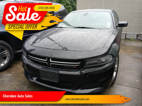 2015 Dodge Charger for sale at Cherokee Auto Sales in Acworth GA
