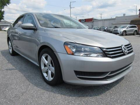 2012 Volkswagen Passat for sale at Cam Automotive LLC in Lancaster PA