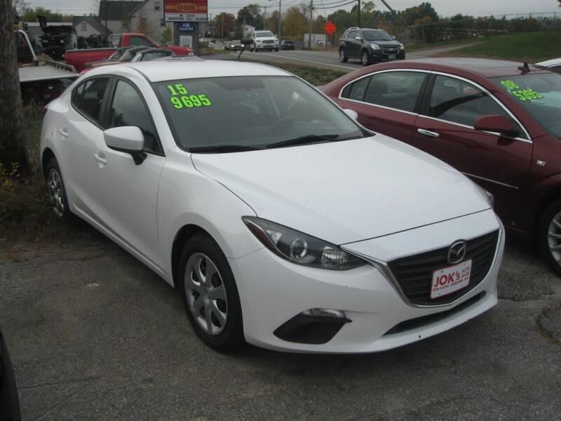 2015 Mazda MAZDA3 for sale at Joks Auto Sales & SVC INC in Hudson NH