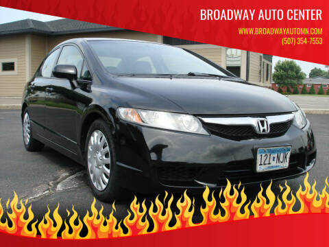 2011 Honda Civic for sale at Broadway Auto Center in New Ulm MN