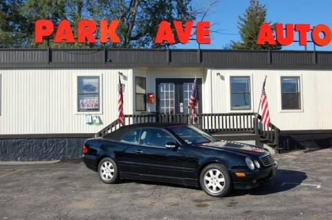 2000 Mercedes-Benz CLK for sale at Park Ave Auto Inc. in Worcester MA