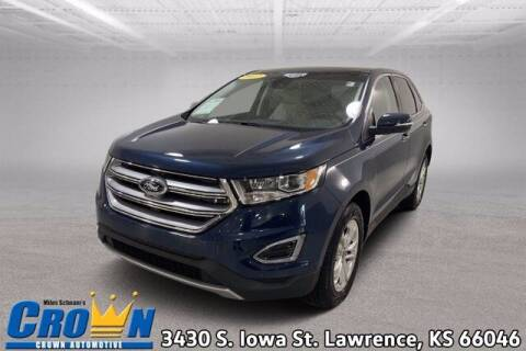 2017 Ford Edge for sale at Crown Automotive of Lawrence Kansas in Lawrence KS
