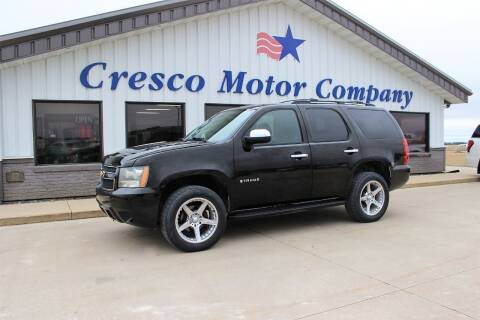 2007 Chevrolet Tahoe for sale at Cresco Motor Company in Cresco IA