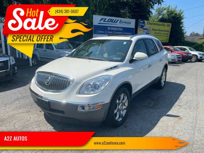 2012 Buick Enclave for sale at A2Z AUTOS in Charlottesville VA