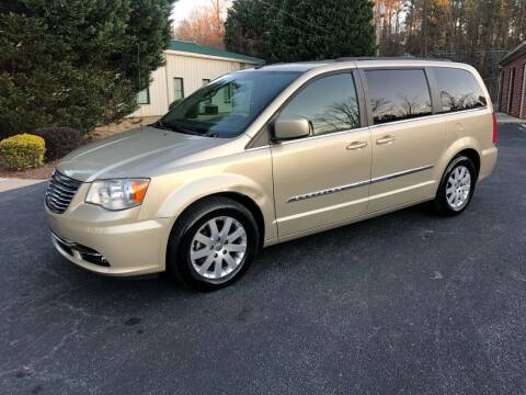 2011 Chrysler Town and Country for sale at GTO United Auto Sales LLC in Lawrenceville GA
