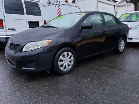 2009 Toyota Corolla for sale at Devaney Auto Sales & Service in East Providence RI