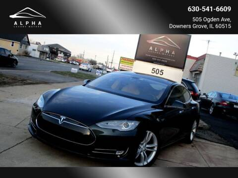 2013 Tesla Model S for sale at Alpha Luxury Motors in Downers Grove IL