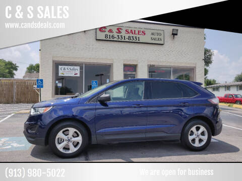 2016 Ford Edge for sale at C & S SALES in Belton MO