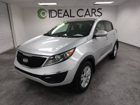 2014 Kia Sportage for sale at Ideal Cars Apache Junction in Apache Junction AZ
