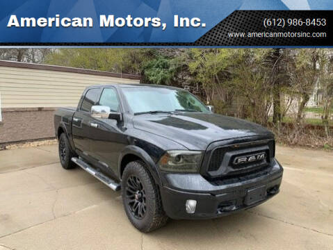 2016 RAM Ram Pickup 1500 for sale at American Motors, Inc. in Farmington MN