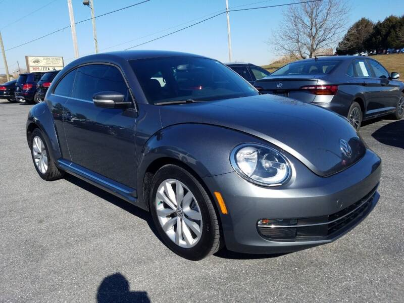 2014 Volkswagen Beetle for sale at John Huber Automotive LLC in New Holland PA