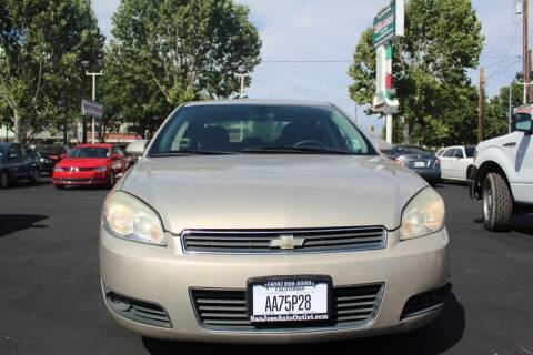2010 Chevrolet Impala for sale at San Jose Auto Outlet in San Jose CA