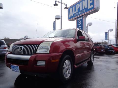 2007 Mercury Mountaineer for sale at Alpine Auto Sales in Salt Lake City UT