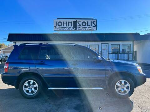 2004 Toyota Highlander for sale at John Solis Automotive Village in Idaho Falls ID