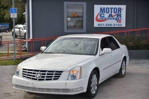 2007 Cadillac DTS for sale at Motor Car Concepts II - Kirkman Location in Orlando FL