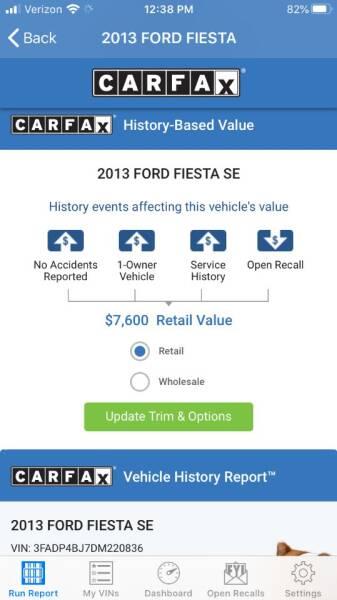 2013 Ford Fiesta SE 4dr Sedan - Portland OR