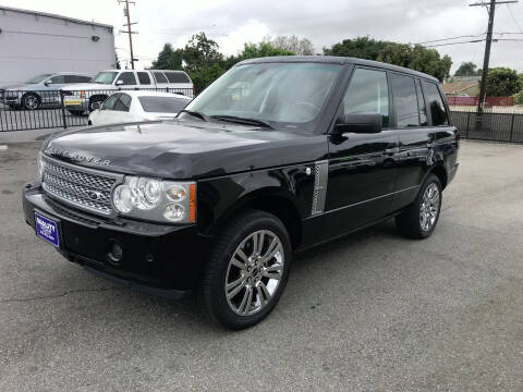 2006 Land Rover Range Rover for sale at Quality Car Sales in Whittier CA