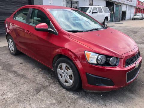 2014 Chevrolet Sonic for sale at TEAM AUTO SALES in Atlanta GA