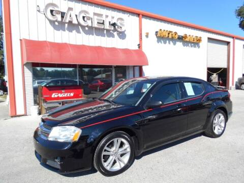 2014 Dodge Avenger for sale at Gagel's Auto Sales in Gibsonton FL