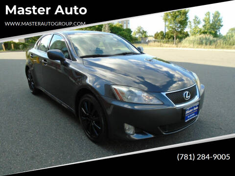 2007 Lexus IS 250 for sale at Master Auto in Revere MA