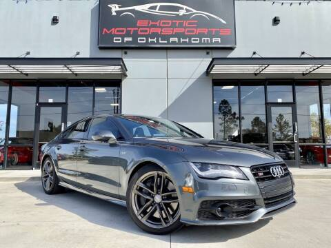 2015 Audi S7 for sale at Exotic Motorsports of Oklahoma in Edmond OK