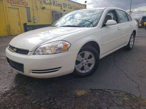 2007 Chevrolet Impala for sale at Cj king of car loans/JJ's Best Auto Sales in Troy MI