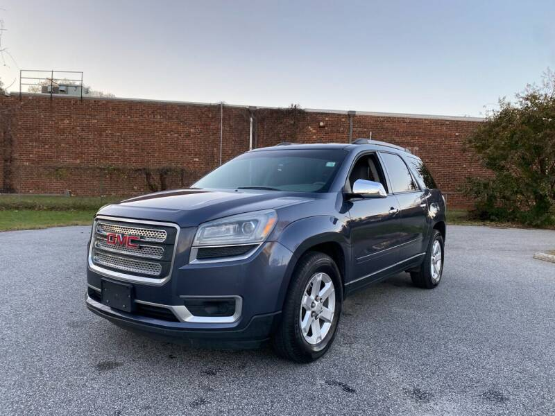 2014 GMC Acadia for sale at RoadLink Auto Sales in Greensboro NC